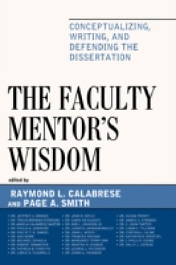 mentoring dissertation faculty members