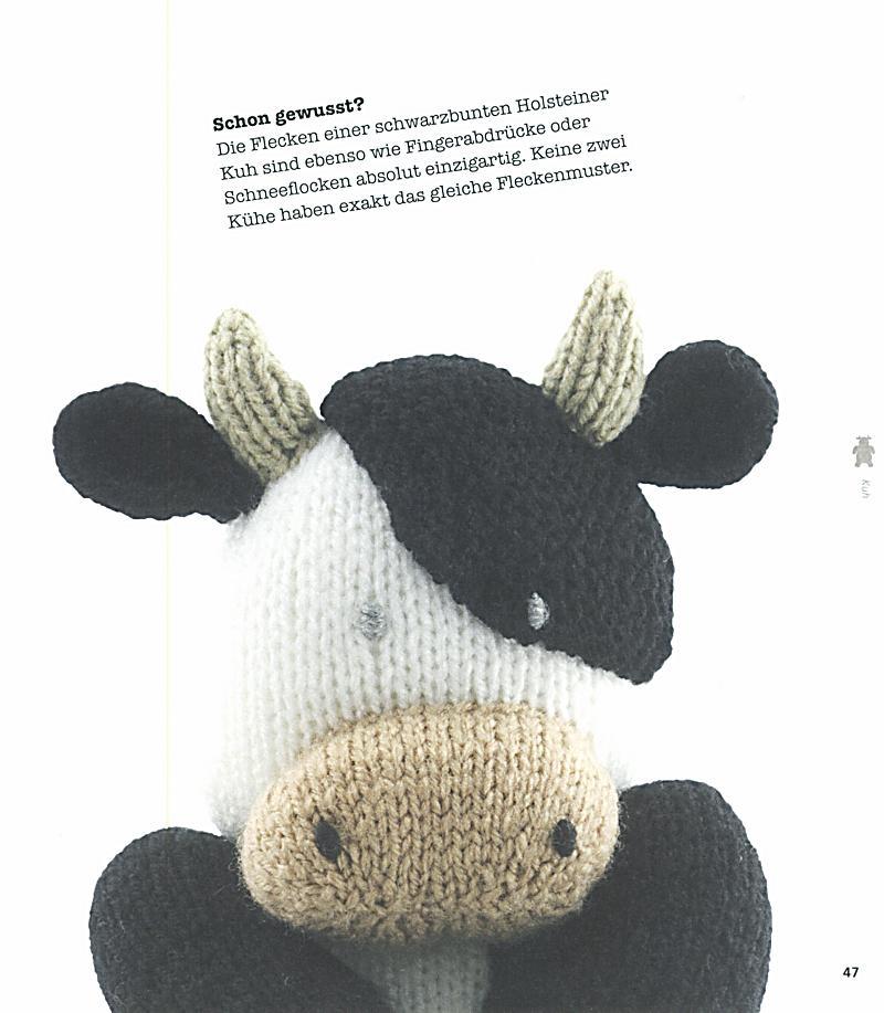 Lustige tiere vom lande stricken produktdetailbild 5