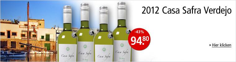 Weingalerie - Empfehlungen aus Spanien - 2013 Casa Safra Verdejo, Uclés DO, Spanien
