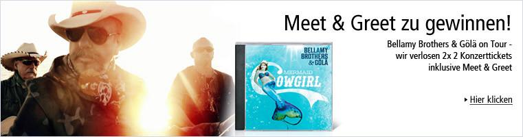 Bellamy Brothers & Gölä - Meet & Greet zu gewinnen!