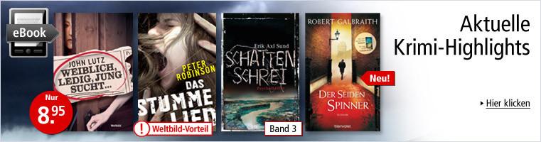 eBooks - Aktuelle Krimi-Highlights