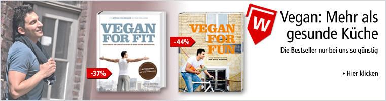 Vegan: Mehr als gesunde Küche - Die Bestseller nur bei uns so günstig