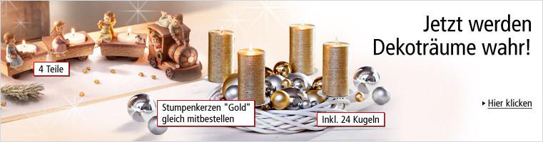 Advent & Weihnachten - Jetzt werden Dekoträume wahr