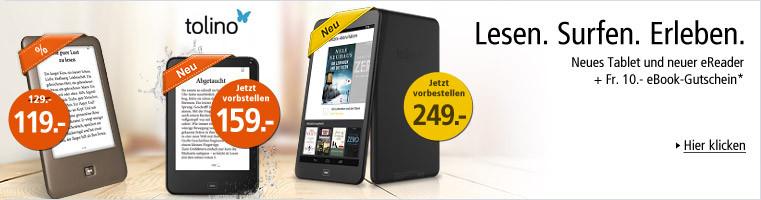 tolino vision 2 und neues 8 Zoll tablet