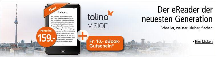 tolino vision - Der eReader der neuesten Generation