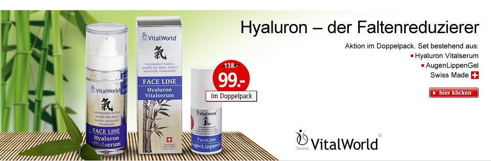 Hyaluron - der Faltenreduzierer