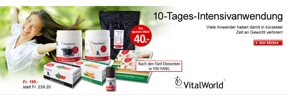 VitalWorld - 10-Tages-Intensivanwendung