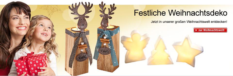 Festliche Weihnachtsdeko