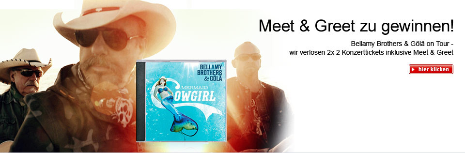 Bellamy Brothers & Gölä - Meet & Greet zu gewinnen!