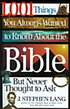 1,001 Things You Always Wanted to Know About the Bible, But Never Thought to Ask (eBook)