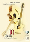 10 Duets for Fingerstyle Guitar, w. Audio-CD (Mixed mode)