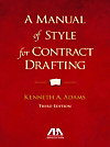A Manual of Style for Contract Drafting (eBook)