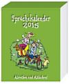 """Abreisskalender """"Sprüche"""" 2015"""