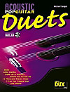 Acoustic Pop Guitar Duets, m. Audio-CD