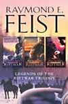 Complete Legends of the Riftwar Trilogy: Honoured Enemy, Murder in Lamut, Jimmy the Hand (eBook)