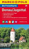 Die Freizeitkarte Donau, Jagsttal