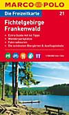 Die Freizeitkarte Fichtelgebirge, Frankenwald