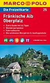 Die Freizeitkarte Fränkische Alb, Oberpfalz