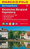 Die Freizeitkarte Hessisches Bergland, Vogelsberg