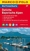 Die Freizeitkarte Östliche Bayerische Alpen