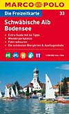 Die Freizeitkarte Schwäbische Alb, Bodensee