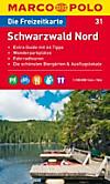 Die Freizeitkarte Schwarzwald Nord