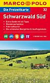 Die Freizeitkarte Schwarzwald Süd
