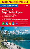 Die Freizeitkarte Westliche Bayerische Alpen
