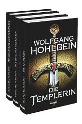 Die Templerin, Der Ring des Sarazenen, Die Rückkehr der Templerin, 3 Bände im Set