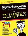 Digital Photography All-in-One Desk Reference For Dummies (eBook)