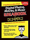 Digital Photos, Movies, & Music Gigabook For Dummies (eBook)