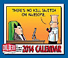Dilbert Day to Day Calendar 2014