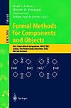 Formal Methods for Components and Objects, FMCO 2002