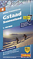 Hallwag Outdoor Map: Gstaad, Saanenland