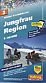 Hallwag Outdoor Map: Jungfrau Region
