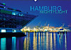 HAMBURG - NIGHTFLIGHT (Wandkalender 2014 DIN A2 quer)