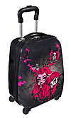 Hartschalentrolley mit 4 Rollen (Design: Monster High)
