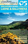 Irish Discovery Series 09. Larne and Ballymena 1 : 50 000