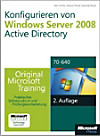 Konfigurieren von Windows Server 2008 Active Directory, m. CD-ROM