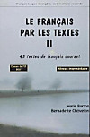 Le Francais par les textes