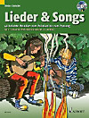 Lieder & Songs, m. Audio-CD, 1-3 Gitarren (Melodie-Instrumente in C ad lib.)