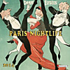 Paris Nightlife 2014 Media Illustration