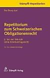 Repetitorium zum Schweizerischen Obligationenrecht