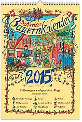 Schweizer Bauernkalender 2015 + Wandplaner