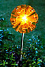 Solar-Gartenstecker Swing (Farbe: orange)