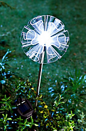 "Solar-Gartenstecker ""Swing"" (Farbe: transparent)"