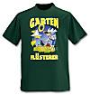 """T-Shirt """"Garten Flüsterer"""" (Grösse: L)"""