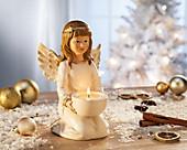 """Teelichthalter-Engel """"Lucia"""""""