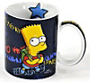 The Simpsons Tasse Bart Simpson Who wants to know