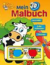 Toggolino Mein 3D-Malbuch , m. 3D-Brille